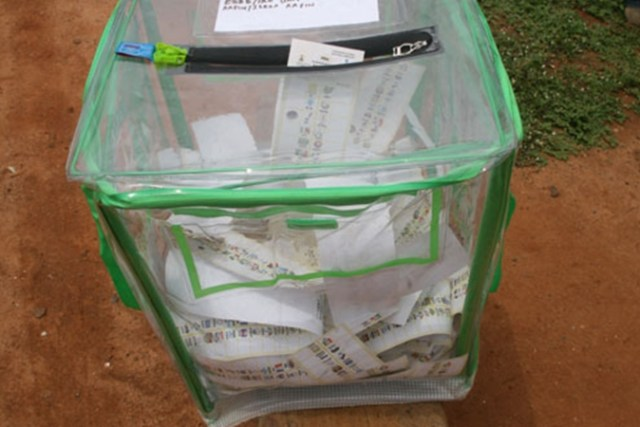 Nigeria Election Ballot Box