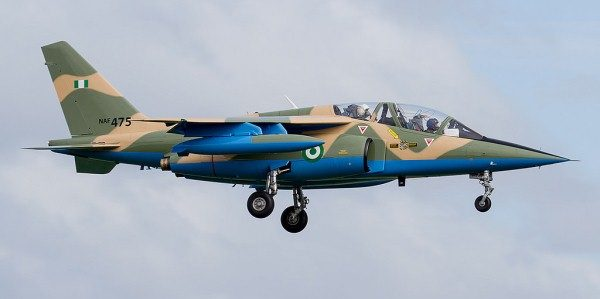 Nigerian Military Fighter Jet