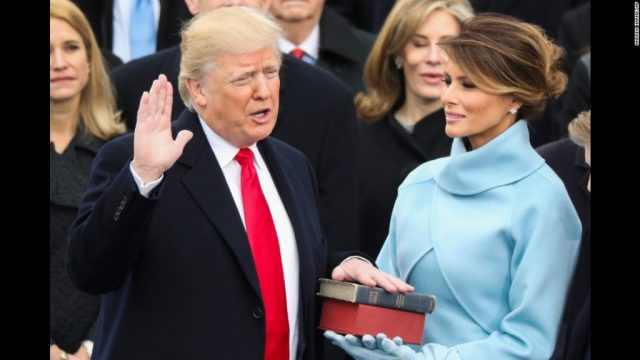 President Trump Takes Oath of Office