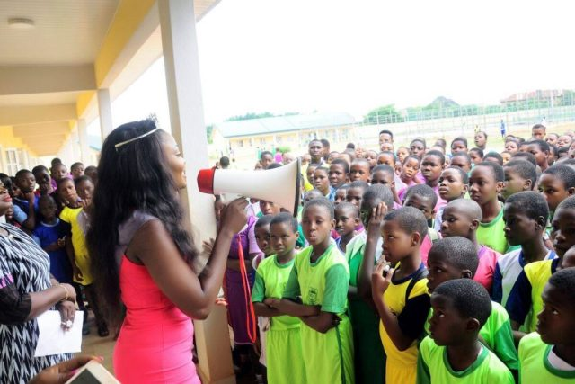 Queen Wanda Monye Education Campaign
