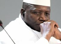 former president of Gambia Yahya Jammeh