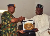 Sadique Abubakar and Samuel Ortom