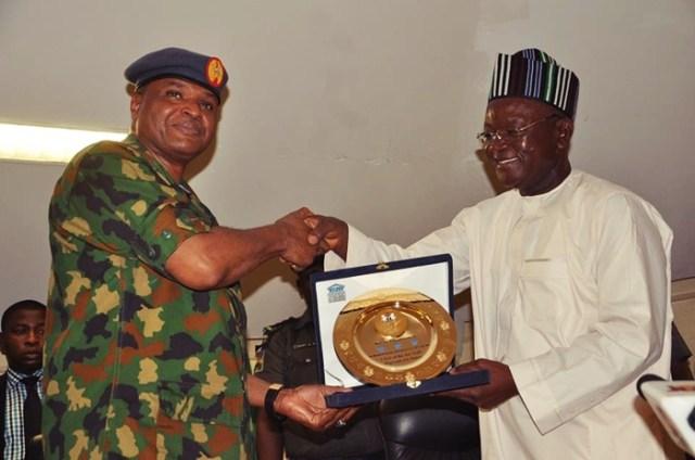 Sadique Abubakar and Samuel Ortom