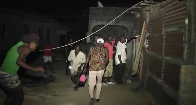 High Tension Wire Kills Football Fans