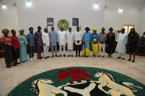 Efe at Delta State Government House