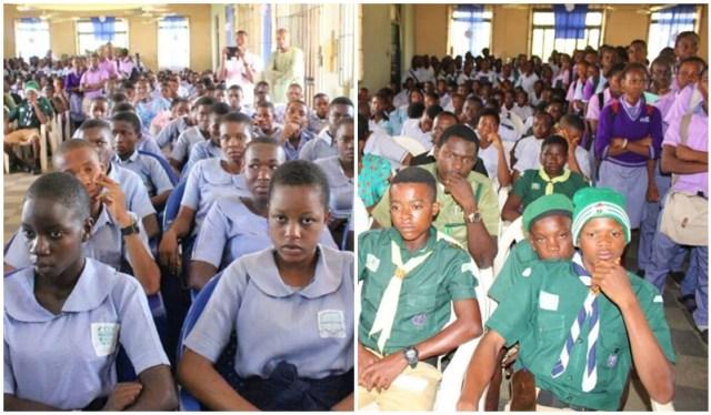 Delta State School Students