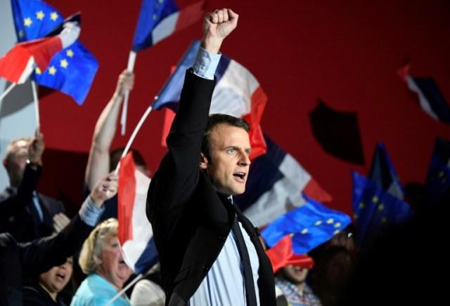 France President Elect Emmanuel Macron