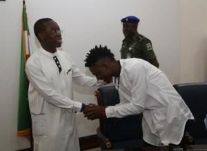 Governor Okowa and Efe Ejeba