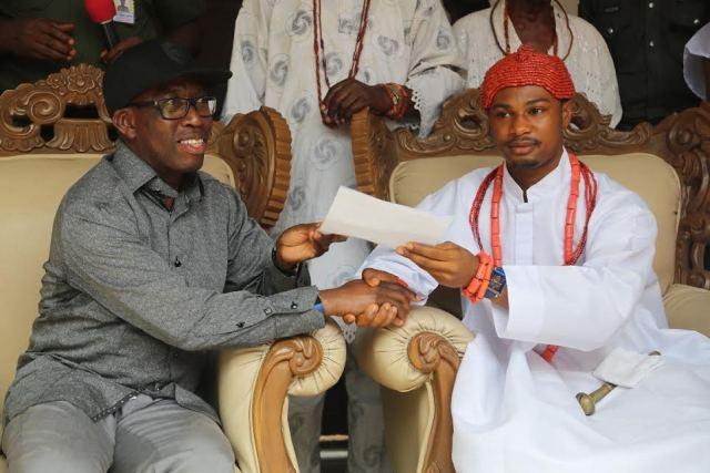 Okowa and Obi of Issele-uku