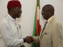 Okowa and Victor Ndoma Egba