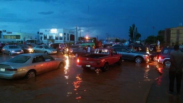 Asaba Rain Flood