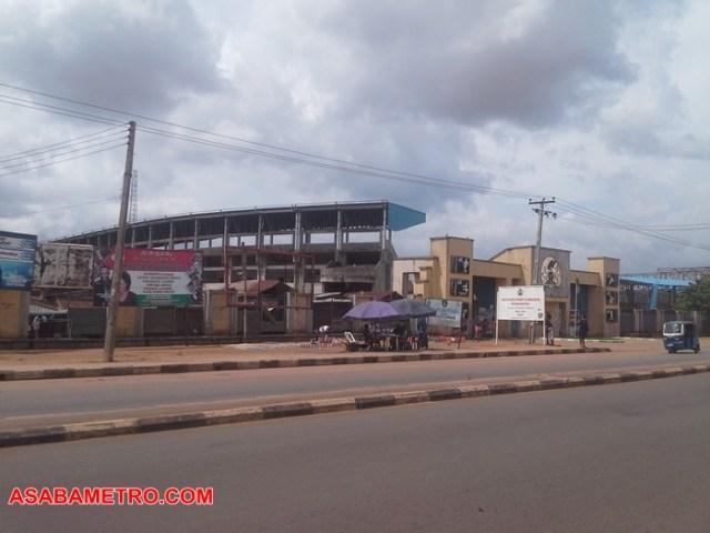 Asaba Stadium Entrance