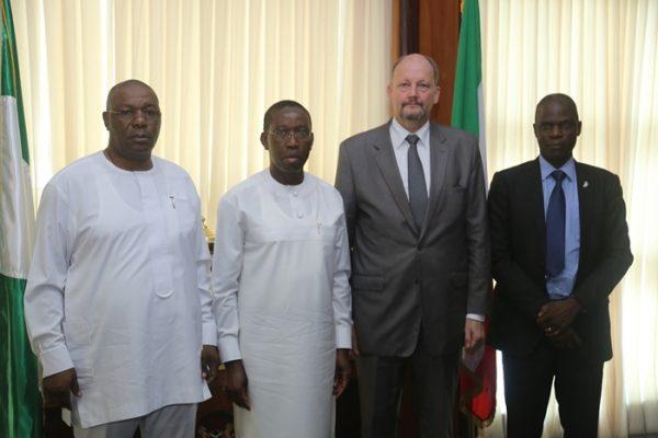 EU Nigeria Ambassador and Delta State Government