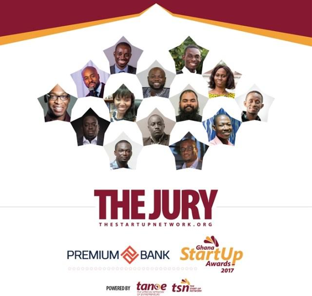 Ghana Startup Awards 2017 Jury