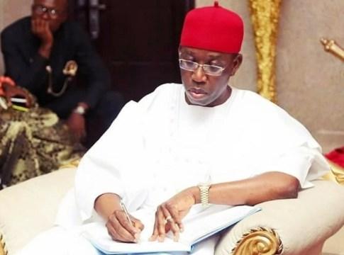 Governor Ifeanyi Arthur Okowa