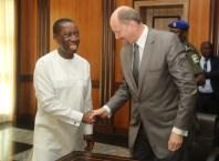 Governor Okowa and EU Michael Arrion