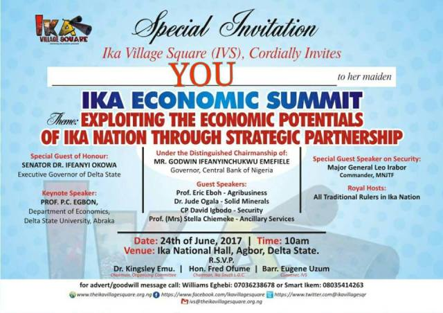 Ika Economic Summit
