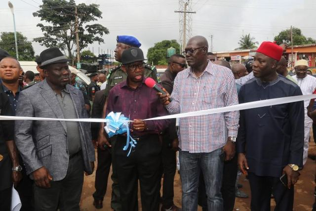 Okowa commissions Asaba Roads