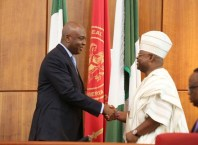 Ademola Adeleke Sworn in