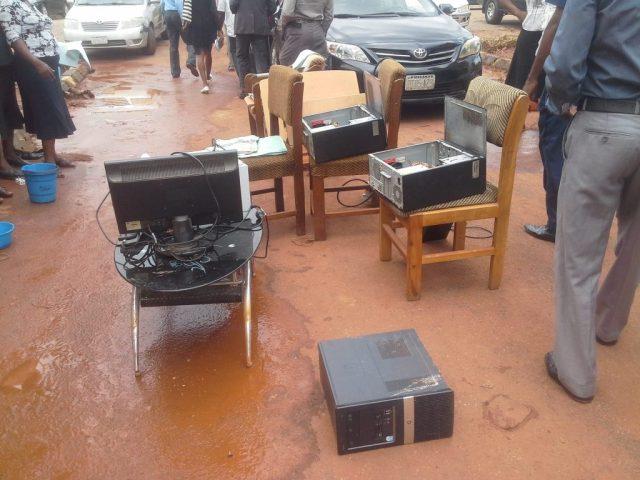 Delta State Old Secretariat Asaba Flood