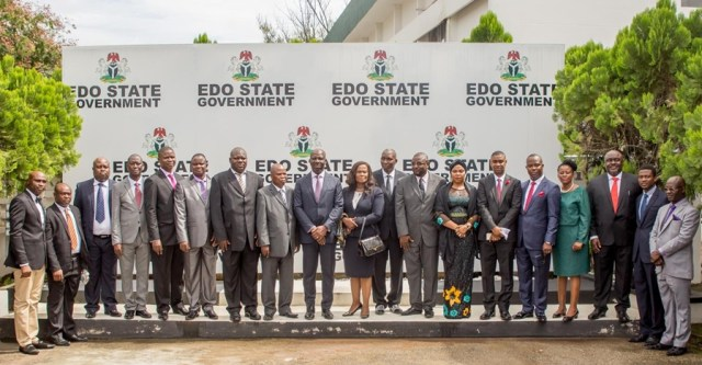 Obaseki and Edo State Commissioners