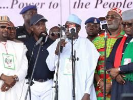 AHMED MAKARFI AT PDP CONVENTION 2017