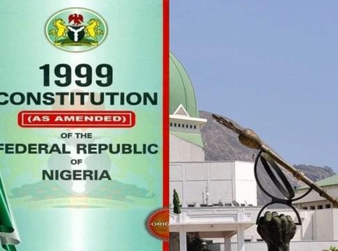 Nigeria Constitution Amendment