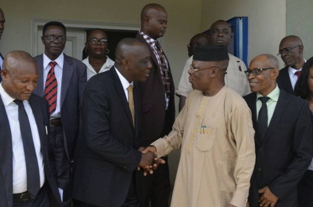Delta State Attorney General Receives DSIEC Commissioners