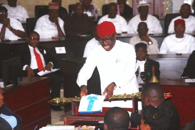 Okowa Presents Delta State 2018 Budget