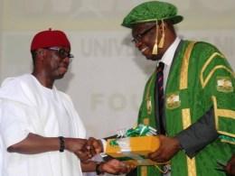 Okowa Receives Dignity Of The Man Award