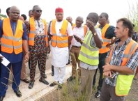 DTHA House Committee on Works on an Inspection at Asaba Airport