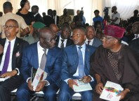 Dangote and Obaseki at Alaghodaro Investment Summit