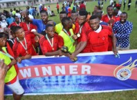 Winners of the 2017 Julius Pondi Peace Cup Competition, Tuomo Football Club