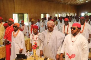 Cross Section of Delta North Royal Fathers and Chiefs at the Event