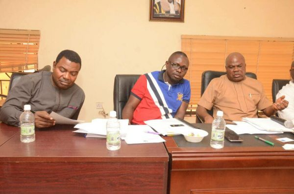 Members of Delta State House of Assembly Committee on Works