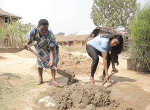 Isabella Agbor Ayuk Renovates Home for a Widow in Cross River State