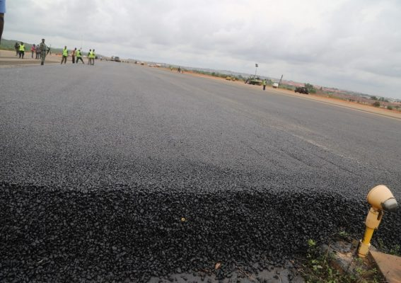 Rehabilitation of Asaba Airport Runway and Taxiways, Extension of Box Culvert by Setraco Nigeria Limited