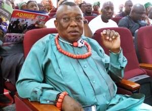 Former Delta Lawmaker, Hon. Taleb Tebite