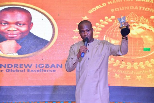 Igban Bags Award for Excellence on Youth Empowerment and Community Empowerment