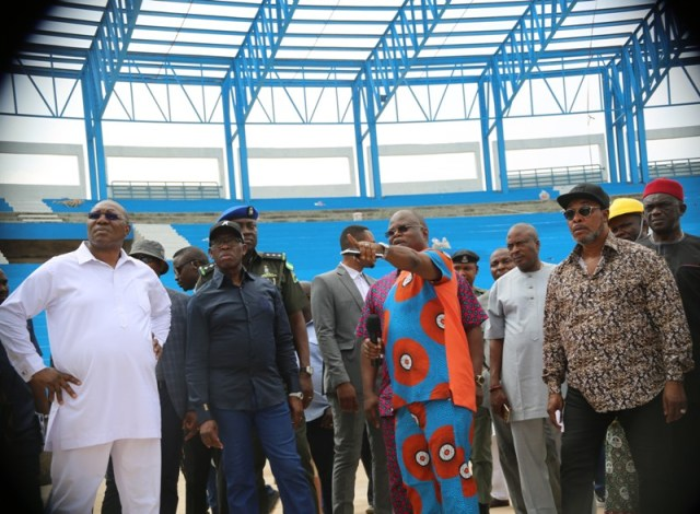 Construction of the Stadium for 2018 Confederation of Africa Athletics Championship