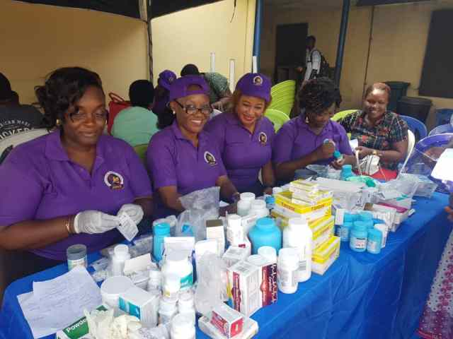 Jesu Marie Empowerment Foundation, JMEF Free Medical Outreach at Ekpan Central Hospital, Uvwie
