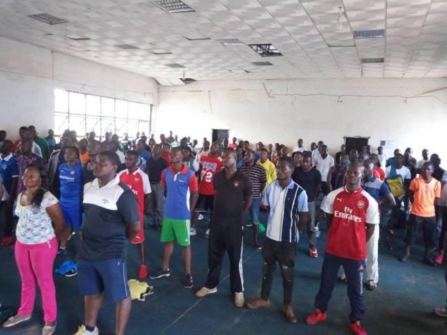 Volunteer Screening Exercise for CAA Asaba 2018