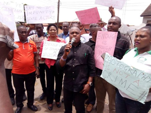 NUJ Chairman, Delta State Council, Comrade Michael Ikeogwu