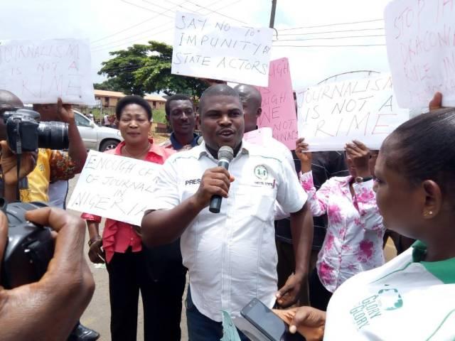 Vice Chairman, NUJ Delta State Council, Comrade Patrick Ochei