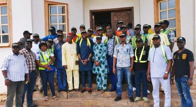 Philip with Ndokwa East PDP Leaders