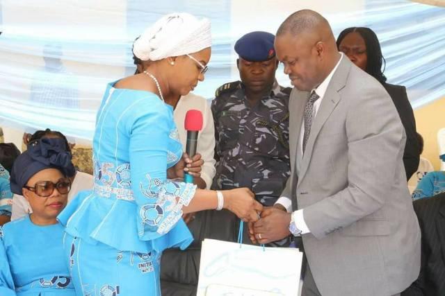 Dame Okowa and FMC CMD Victor Osiatuma