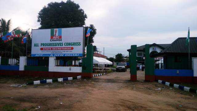 Delta State APC Secretariat Along Government House Asaba