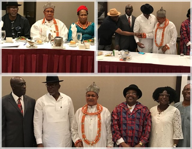 The Paramount Ruler of Seimbiri Kingdom, King Charles Ayemi-Botu Bags 2018 INAA Award in USA