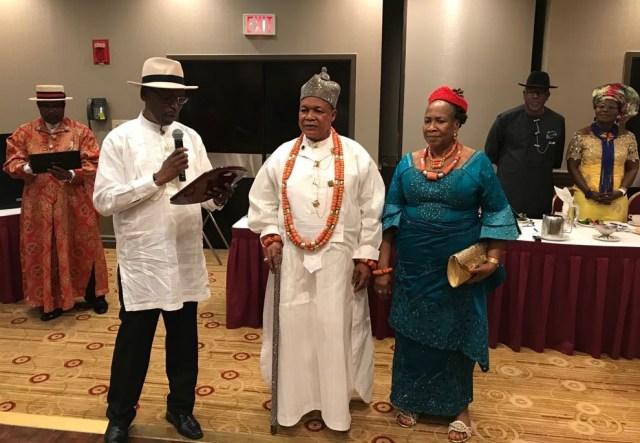King Charles Ayemi-Botu Bags 2018 INAA Award