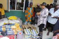 Nwaka Visits her Constituents Displaced by Flood